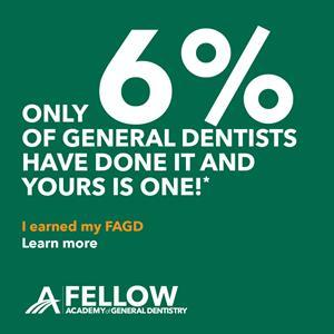 Fellow Academy of General Dentistry Badge